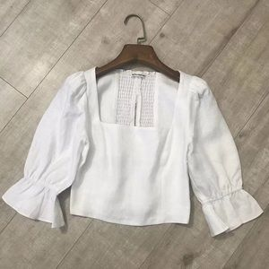 New Reformation linen top 2020 new arrival sz 2